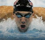 Super Olympian Phelps Signs Exclusive Memorabilia Deal