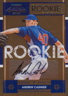 2008 Playoff Contenders Baseball Rookie Ticket Autograph Short Print Checklist