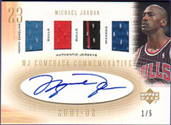 The Top Michael Jordan Autographed Cards of All-Time 2