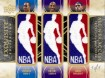 All NBA Access Triple Logo Man Patch 2009 10 Upper Deck Exquisite Basketball 105x78 Image