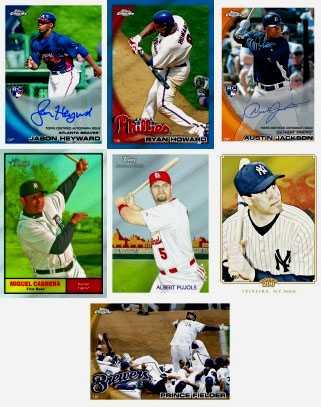 2010 Topps Chrome Baseball 1
