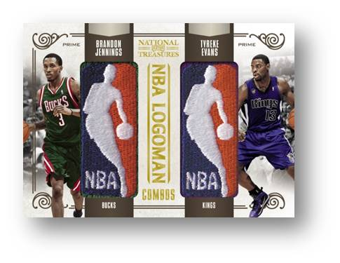 Logoman Combos 2010 Panini National Treasures Image