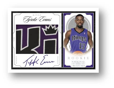 Rookie Signature Materials 2010 Panini National Treasures Auto Image