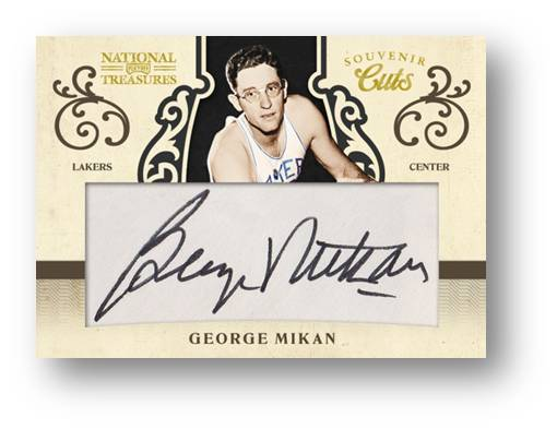 Souvenir Cut Auto 2010 Panini National Treasures Image