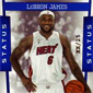 First LeBron James Miami Heat Basketball Cards Hit eBay
