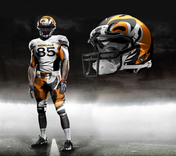 Fictional Nike NFL Uniforms Play-Fake National Media