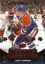 2010 11 Upper Deck Taylor Hall French Young Guns Image