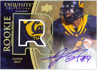 JAHVID BEST 2010 EXQUISITE COLLECTION FOOTBALL Image
