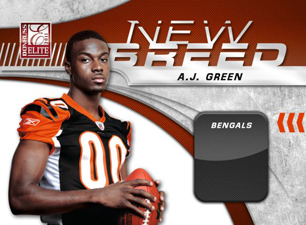 2011 Donruss Elite New Breed A.J. Green Image