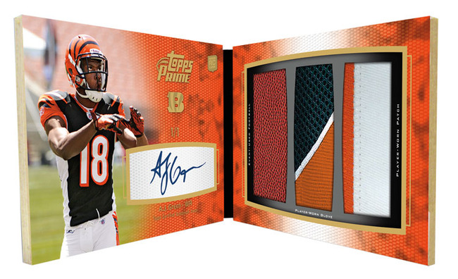 2011 Topps Prime Football A.J. Green Image