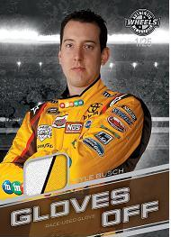2011 Wheels Main Event Racing Gloves Off Kyle Busch Image
