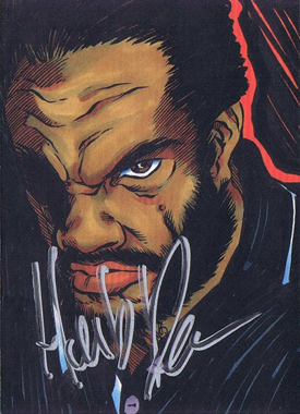 2011 5finity Herb Dean Autograph Image