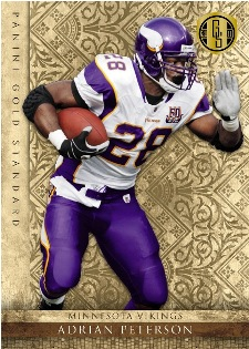 2011 Panini Gold Standard Football Adrian Peterson Image