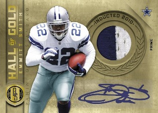 2011 Panini Gold Standard Football Hall of Gold Emmitt Smith Image