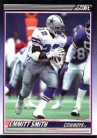 Emmitt Smith Cards, Rookie Cards Checklist and Autograph Memorabilia Guide