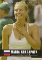 Maria Sharapova Tennis Cards, Rookie Cards and Autographed Memorabilia Guide
