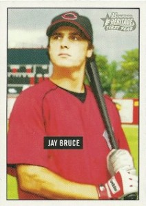 2005 Bowman Heritage 343 Jay Bruce Rookie Card
