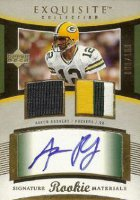 Aaron Rodgers Rookie Cards Checklist and Autographed Memorabilia