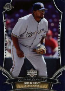 2005 Upper Deck Sweet Spot Prince Fielder Rookie Card Image