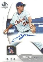 Justin Verlander Cards, Rookie Cards and Autograph Memorabilia Guide