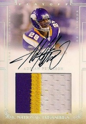 2007 National Treasures Adrian Peterson Image