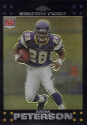 2007 Topps Chrome Adrian Peterson Image