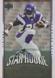 2007 Upper Deck Adrian Peterson Image