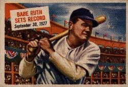 1954 Topps Scoops Babe Ruth Image