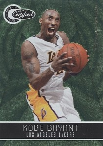 2010 11 Panini Totally Certified Totally Green Kobe Bryant 211x300 Image