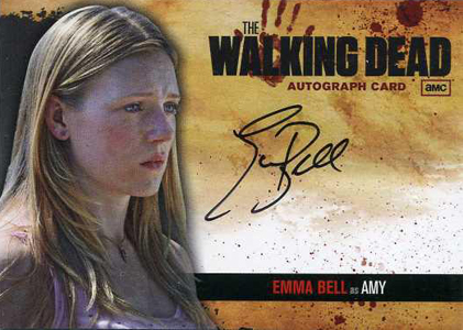 2011 Cryptozoic The Walking Dead Autograph Image