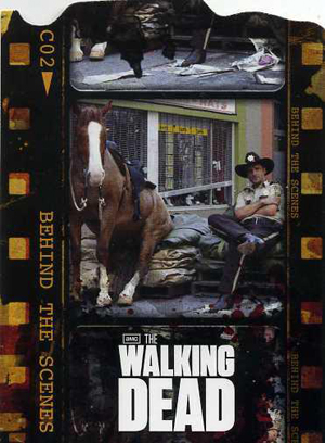 2011 Cryptozoic The Walking Dead Behind the Scenes Image