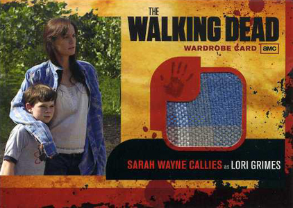 2011 Cryptozoic The Walking Dead Costume Card Image