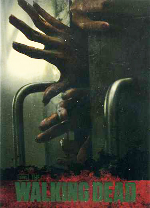 2011 Cryptozoic The Walking Dead Foil Image