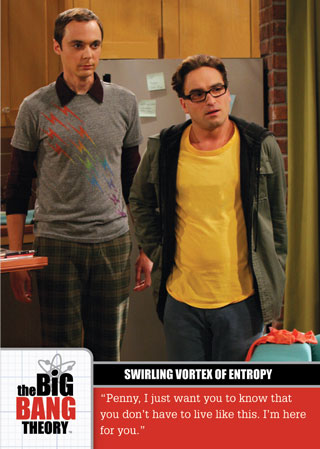 2012 Cryptozoic Big Bang Theory Image