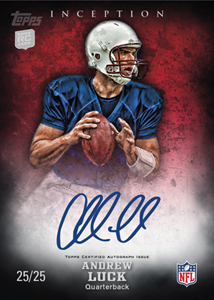 2012 Topps Inception Autographs Andrew Luck Image