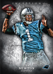 2012 Topps Inception Cam Newton Image