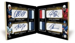 2012 Topps Inception Quad Autograph Jersey 260x148 Image