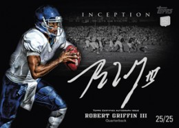 2012 Topps Inception Rookie Silver Signings Robert Griffin III 260x185 Image