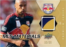 2012 Upper Deck Soccer MLS Materials Thierry Henry 260x186 Image