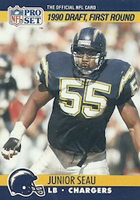Junior Seau Football Cards and Autograph Memorabilia Guide