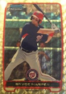 2012 Bowman Chrome Superfractor Bryce Harper 212x300 Image