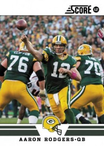 2012 Score Football Aaron Rodgers 214x300 Image