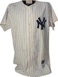 Don Larsen 1956 World Series Perfect Game Jersey Front