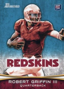 2012 Bowman Football Variations Robert Griffin III