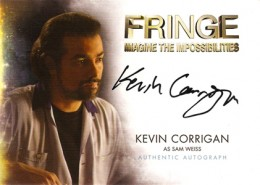 2012 Cryptozoic Fringe Seasons 1 and 2 Autographs A10 Kevin Corrigan as Sam Weiss 260x185 Image