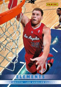 2012 Panini Father's Day Elements 10 Blake Griffin