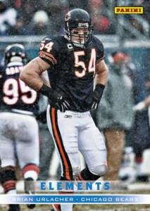 2012 Panini Father's Day Elements 2 Brian Urlacher
