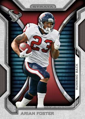 2012 Topps Strata Football Arian Foster Image