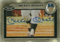 2012 Topps Tier One Baseball Cut Signature Card Image