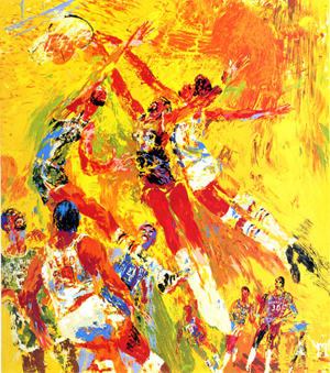 15 Amazing LeRoy Neiman Sports Paintings to Marvel and Admire